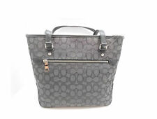 Coach Outline Signature Zip Top Tote Shoulder Bag Handbag F55364
