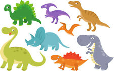 Dinosaur Bedroom wall toy box stickers Vinyl Graphics Baby Nursery Childrens boy