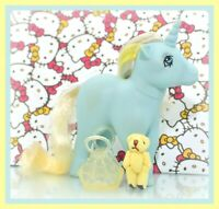 ❤️My Little Pony MLP G1 Vtg ITALY Italian Variant Sunbeam Unicorn NIRVANA❤️