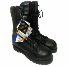 Matterhorn Size 6 Safety Box Toe Boots Mens 6 Black Leather Gore Tex Waterproof