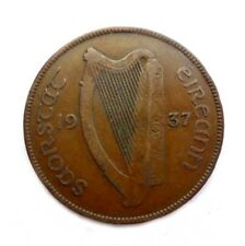 Ireland 1937 PENNY 1d in good circulated condition
