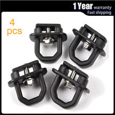 4pcs Truck Bed Side Tie Down Anchors Wall Hook Rings Car Accessories for GMC