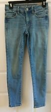 American Eagle Blue Jean Jeggings Low Rise Super Stretch Size 0 NWT NEW