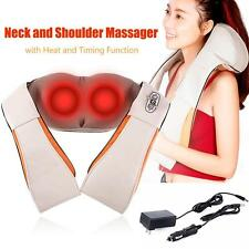 2017 Shiatsu Kneading Massager Therapy for Foot/Back/ Neck /Shoulder Pain US