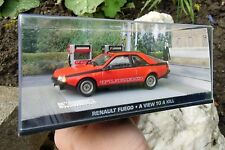 007 JAMES BOND - Renault Fuego Turbo - A View to a Kill - 1:43 BOXED CAR MODEL