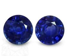 Round Blue Loose Natural Sapphires