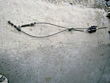 FORD FUSION 2008 1.4 16V 5 SPEED MANUAL GEAR LINKAGE CABLES WITH SELECTOR