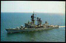 USS King DDG-41 postcard  US Navy ship Guided Missile Destroyer (cd2)