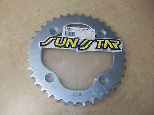 Sunstar 37 Tooth Steel Rear Sprocket For Suzuki LTR450 LTR 450 LT-R450 QuadRacer