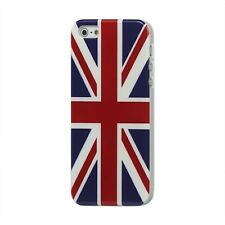UNION JACK UK FLAG - CUSTODIA PROTEZIONE COVER BACK CASE RIGIDA per iPhone 5