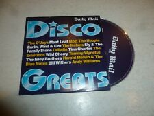 DISCO GREATS - 15-track CD - Daily Mail Promo