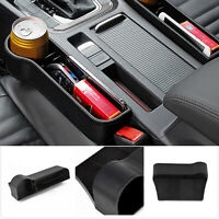 Car Storage Box Seat Gap Catcher Pocket Organizer Phone Key Box Easy Install