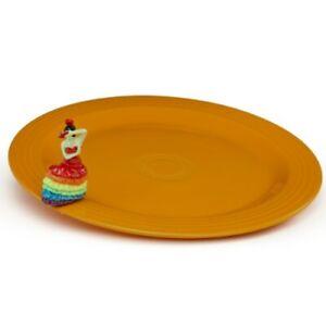 Nora Fleming Fiesta Platter With Dancing Lady Fiesta01 - Free Shipping