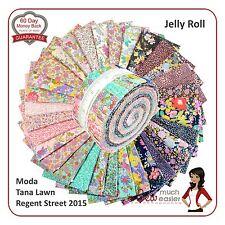 Moda Regent Street 2015 Jelly Roll Fabric cotton English tana lawn liberty print