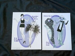 ORIGINAL Glamour Paper Dolls by Donald Hendricks—Signed/Uncut