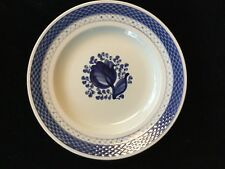 "Royal Copenhagen - ""Tranquebar-Blue 4; - Luncheon Plate - #946 - 3 Available -"