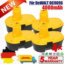 4X 18V 4000mAh NiMH Akku für Dewalt DC9096 DW9098 DC9098 DW9095 DW9096 Batterie