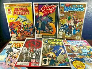 First Issue Lot AVENGERS ARENA Alpha Flight GHOST RIDER New Warriors 2nd CABLE 1