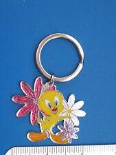 Tweety Bird  with flowers - keychain , key chain GIFT BOXED