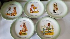 LOT OF 5 American Greetings HOLLY HOBBIE Collector Edition 10.5 PLATES