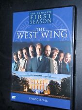 The West Wing    Season 1    Episodes  9 - 16      DVD#118