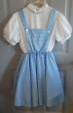 DOROTHY COSTUME ADULT THEATER PLAY DANCE COSPLAY OFFICIAL WIZARD OF OZ COSTUME