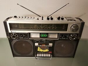 JVC RC-838W biphonic boombox ghettoblaster vintage