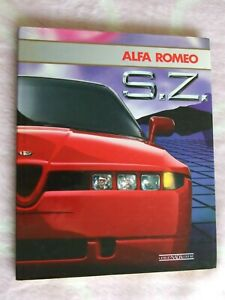 Alfa Romeo S.Z. Illustrated book Very Rare- Very Good Used Condition.