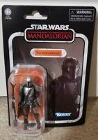 Star Wars Vintage Din Djarin The Mandalorian Beskar Armor Child NEW In-Hand