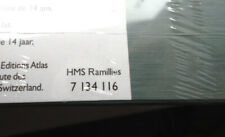 Atlas Editions 1/1250 Legendary Warships Collection HMS RAMILLIES Unopened
