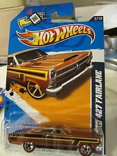 Hot Wheels '66 Ford 427 Fairlane Muscle Mania 5 sp redlines Brown
