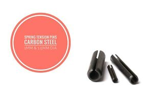 Slotted Spring Tension Pins Sellock Roll Pins Carbon Steel & 1.5mm Diameter