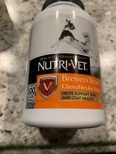 Nutri-Vet Brewers Yeast with Garlic Chewables, Dogs Multivitamin