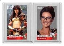 Lucy Lawless rare MH Broken Flake #'d 2/3 Tobacco card no. 465