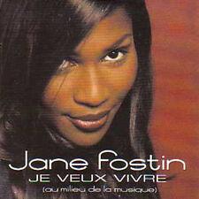 ☆ CD SINGLE Jane FOSTIN - Zouk Machine Je veux vivre  ☆