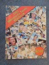 Minnesota Twins Yearbook 1980