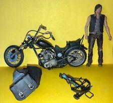 WALKING DEAD McFarlane - DARYL DIXON w/ MOTORCYCLE Action Figure - Loose