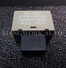 LED Indicator Turn Signal 8-pin Flasher Relay Hyper Flash Fix 81980 CF18-08