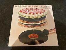 THE ROLLING STONES Let It Bleed VMP LP Coke Bottle Clear Vinyl 50th ANN Limited