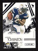 2009 Donruss Rookies & Stars #80 LaDainian Tomlinson San Diego Chargers HOF Card