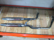 Genuine Harley Davidson Chrome Stock Exhaust System, 65094-00 and 65890-00