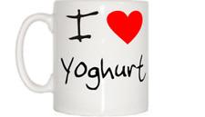 I Love Heart Yoghurt Mug