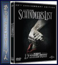 SCHINDLERS LIST - 20TH ANNIVERSARY EDITION **BRAND NEW DVD * **