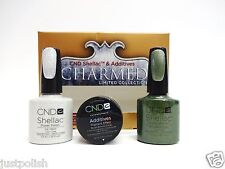 CND Shellac Additive Nail Art Blush Bronze Frost/ Ice Vapor/Frosted Glen 3ct/pk