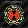 7th US Army Infantry Division Veteran Sticker Decal light fighter battalion