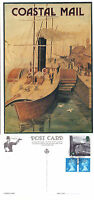 18 JANUARY 1994 AGE OF STEAM 19p ON COSTAL MAIL ADVERT POSTCARD GREAT EASTERN HS