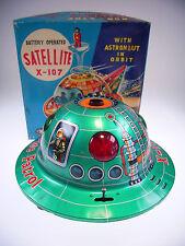 "GSR ROBOT Modern Toys ""Satellite x-107"" LIKE NEW/NEW/NEUF in good box!"