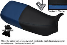 BLACK & ROYAL BLUE CUSTOM FITS HONDA XL 600 V TRANSALP DUAL SEAT COVER