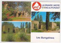 CP 34280 LA GRANDE MOTTE multivues Etang du Ponant WF Les Bungalows