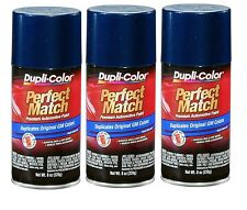 3 Cans Duplicolor Bgm0506 Wa9792 For Gm Code 39 Indigo Blue Aerosol Spray Paint